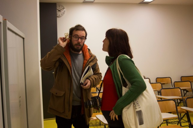 Aitor i Neus, productor i directora